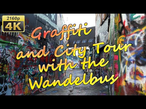 Graffiti and City Tour with the Wandelbus in Ghent  - Belgium 4K Travel Channel - UCqv3b5EIRz-ZqBzUeEH7BKQ
