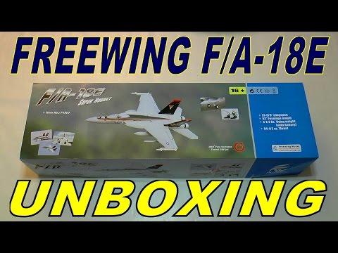 FREEWING / MOTIONRC F/A-18E SUPER HORNET UNBOXING - UCdnuf9CA6I-2wAcC90xODrQ