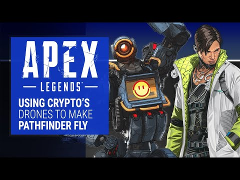 Apex Legends - Making Pathfinder Fly With Crypto's Drones - UCl3hyq3lvokEV5rrxGoE3OA