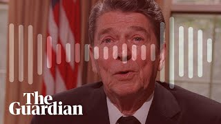 Ronald Reagan called African diplomats 'monkeys' in call to Richard Nixon – audio
