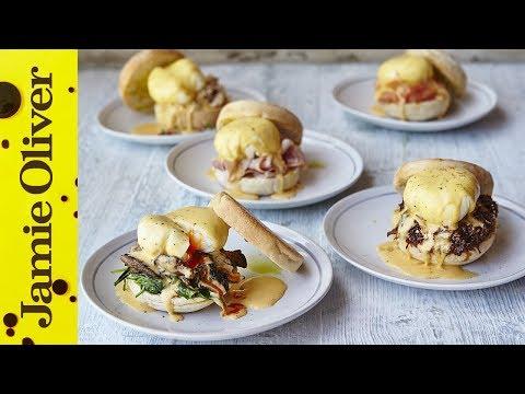 Eggs Benedict | 5 Ways | Jamie Oliver - UCpSgg_ECBj25s9moCDfSTsA