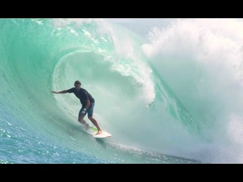 Fluid Friction Surfing