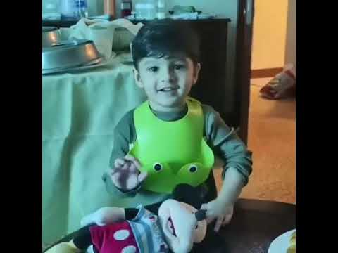 Shoaib Malik's Son Izhaan Learning Dua From His Mommy Sania Mirza