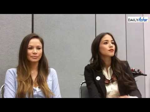 WonderCon: 'Falling Skies' Interview with Moon Bloodgood & Seychelle Gabriel - default