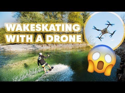Drone Wakeskating In Slovenia - UCblfuW_4rakIf2h6aqANefA