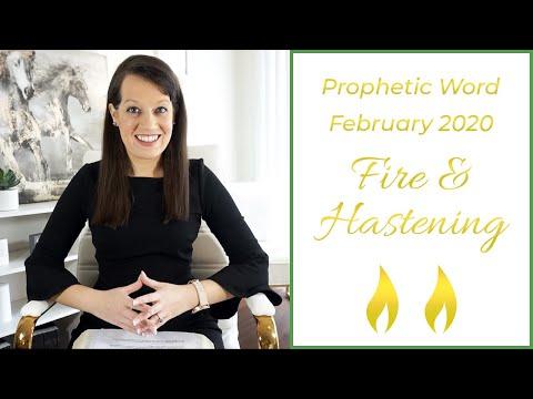 Prophetic Word February 2020