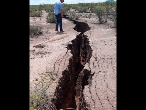 Prophetic Huge Crack In Earths Crust In Mexico Hell Enlarged