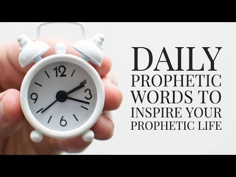365 Prophetic  Inspiring Your to Live a Prophetic Life
