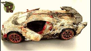 RESTORATION MODEL BUGATTI CAR - The world's most expensive car - Restores abandoned Bugatti cars