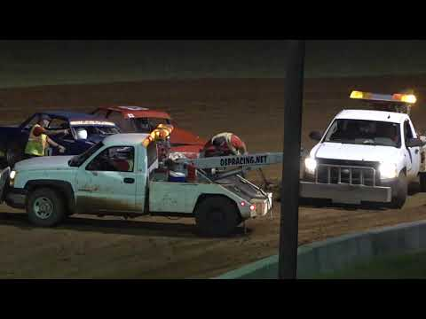 09/10/21 GoMobile Storage Mini Stock Points Champion Race - Oglethorpe Speedway Park - dirt track racing video image