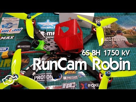 Brotherhobby Speed Shield 2207.5 V2 1750 And Runcam Robin 1.8 - UCv2D074JIyQEXdjK17SmREQ