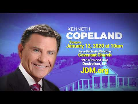 Kenneth Copeland at JDMCC