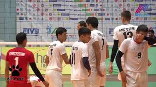 Kyrgyzstan Vs Turkmenistan ll Semifinal ll AVC Central Zone ll Voleyball