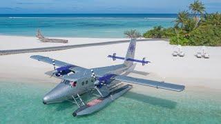Most exclusive seaplane in the Maldives: flight to Soneva Fushi (AMAZING)