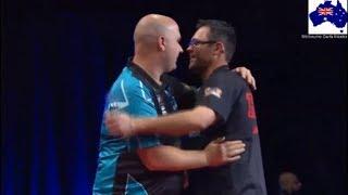 2019 Melbourne Darts Masters Quarter Final  Cross vs Heta