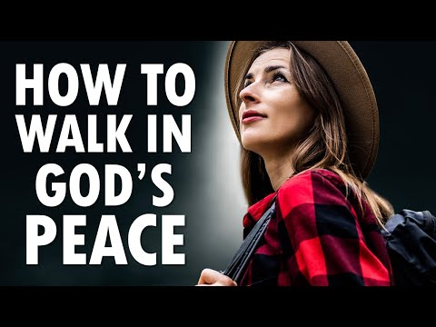 How to Walk in Gods PEACE - Morning Prayer