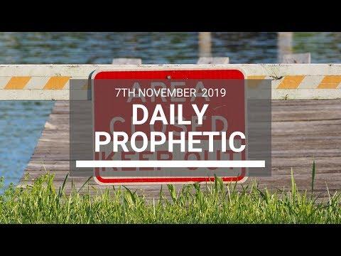 Daily Prophetic 7 November Word 7