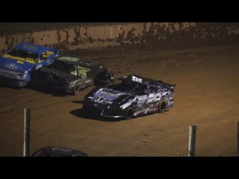 Tempers Flare Stock 4b at Winder Barrow Speedway July 3rd 2021 - dirt track racing video image