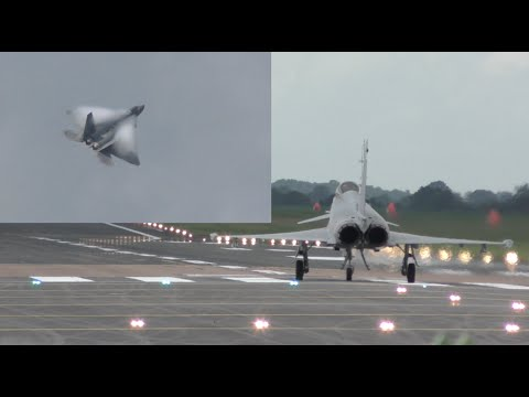 Hold your breath guys F-22 Raptor vs Typhoon Eurofighter takeoff and some flying display highlights - UCa2tUAFYllAtKsac54I26Hw