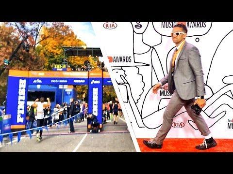 NYC Marathon vs  YouTube Music Awards - UCtinbF-Q-fVthA0qrFQTgXQ