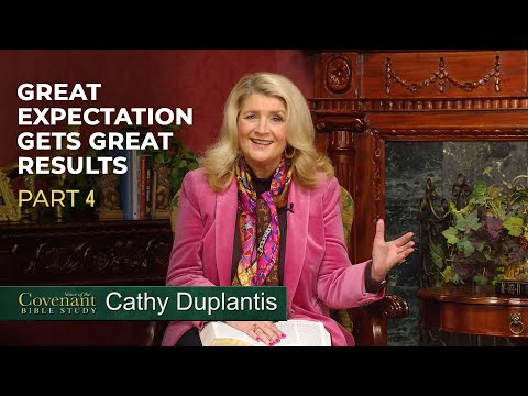 Voice of the Covenant Bible Study Part 4  Cathy Duplantis
