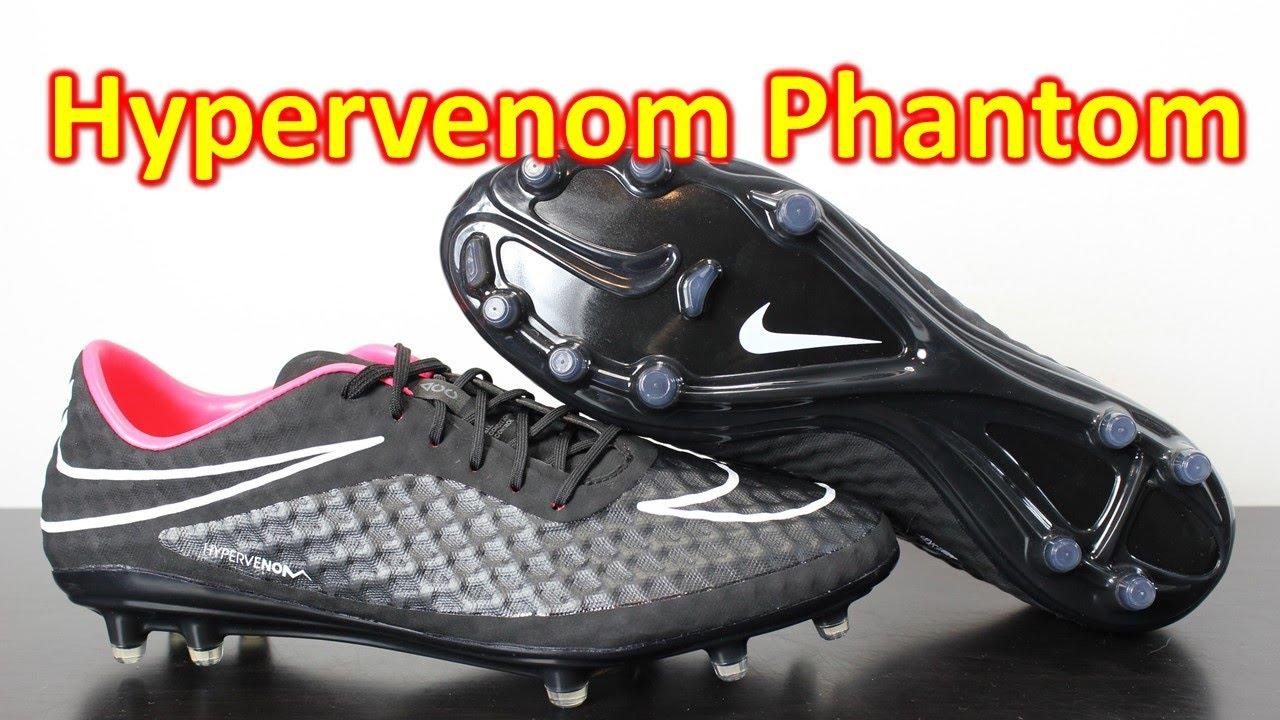 d7430634e Nike Hypervenom Phantom Stealth Pack Black White Hyper Punch - Unboxing +  On Feet