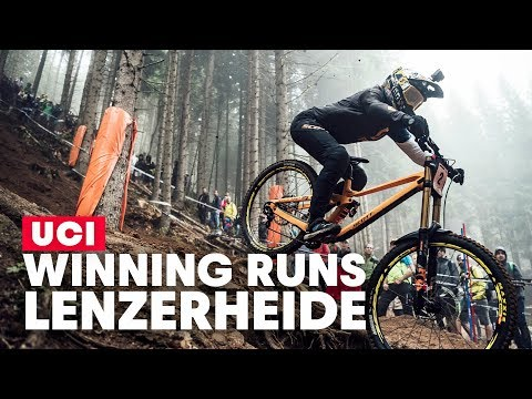 Winning DH Runs from Lenzerheide | UCI MTB World Cup 2019 - UCXqlds5f7B2OOs9vQuevl4A