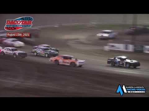 Dacotah Speedway WISSOTA Street Stock A-Main (8/13/21) - dirt track racing video image