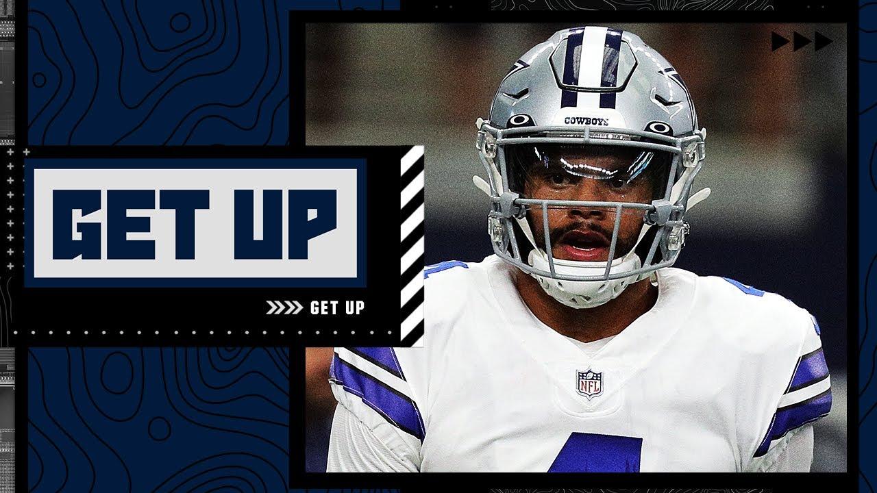 Should the Cowboys play Dak Prescott against v.s the Vikings? | Get Up