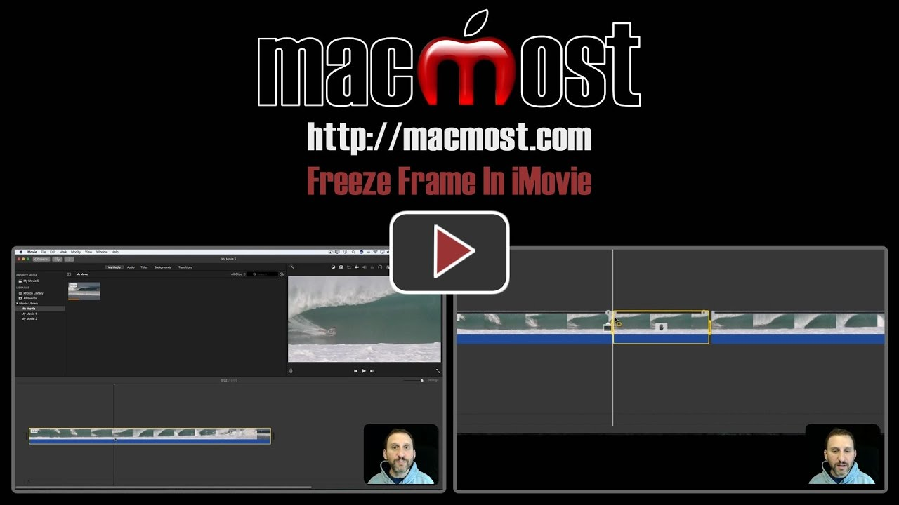Freeze Frame In iMovie – MacMost