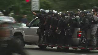 Portland protests wind down as groups disperse