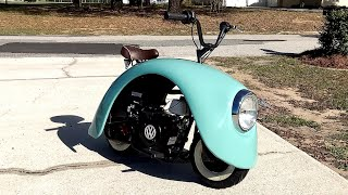 Mini moto su base Volkswagen Beetle