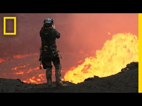 Drones Sacrificed for Spectacular Volcano Video | National Geographic - UCpVm7bg6pXKo1Pr6k5kxG9A