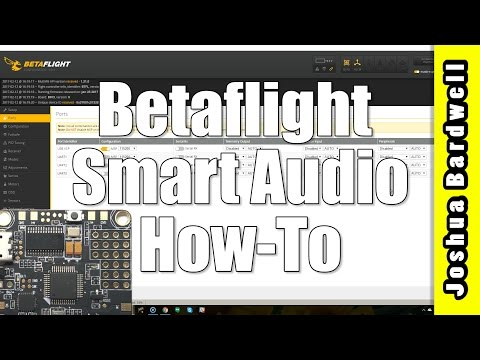 BETAFLIGHT SMARTAUDIO | Change vTX channel and power remotely! - UCX3eufnI7A2I7IkKHZn8KSQ