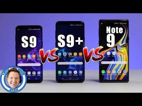 Samsung Galaxy S9 vs S9+ vs Note 9 Full Comparison - UCjMVmz06abZGVdWjd1mAMnQ