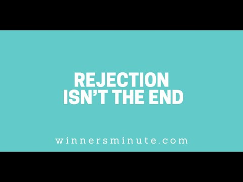Rejection Isnt the End // The Winner's Minute With Mac Hammond