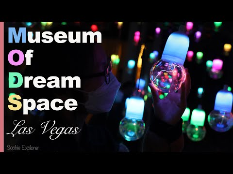 数字艺术美术馆|拉斯维加斯|Museum Of Dream Space in Las Vegas|MODS