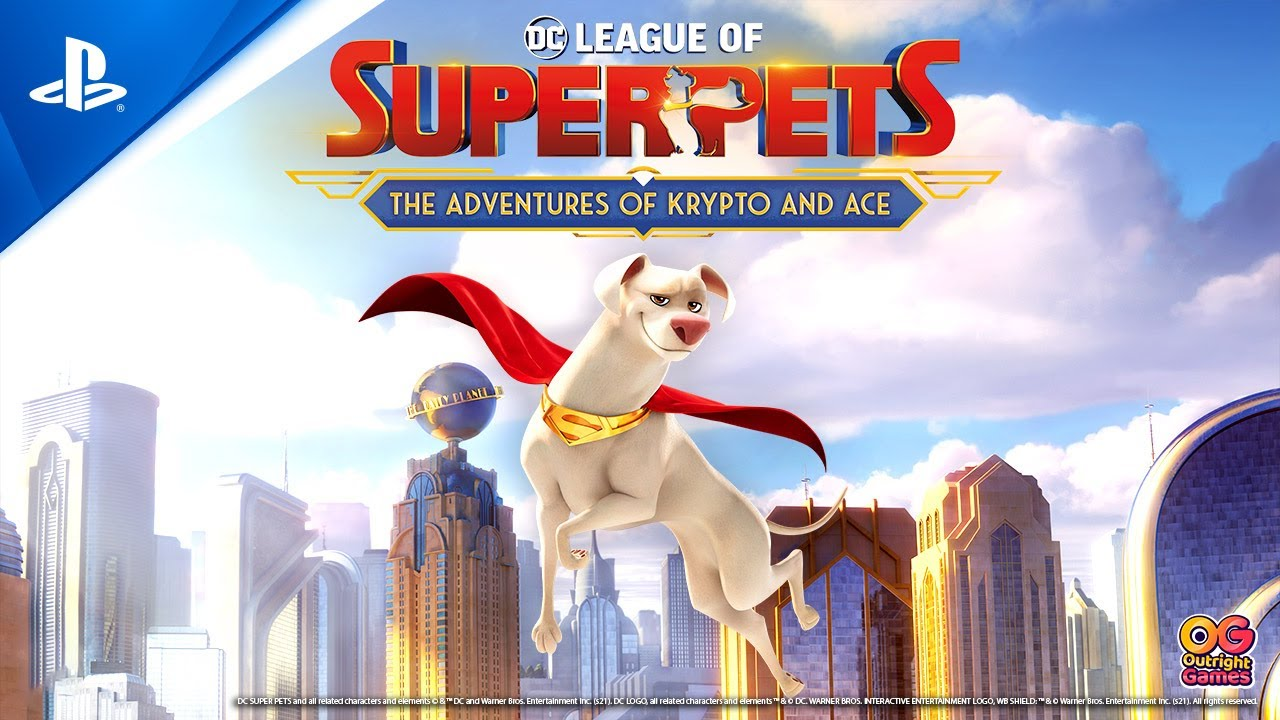 DC League of Super-Pets: The Adventures of Krypto and Ace – Announce Trailer | PS4