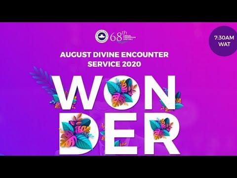 RCCG AUGUST 2020 DIVINE ENCOUNTER - WONDERFUL