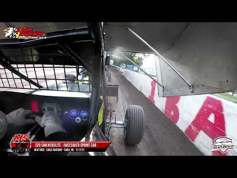 22d Dan Nekolite   Eagle Raceway   7-17-21 - dirt track racing video image