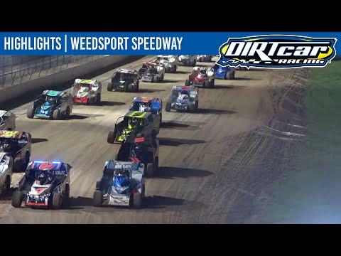 DIRTcar Sportsman Modifieds Weedsport Speedway October 6, 2021   HIGHLIGHTS - dirt track racing video image