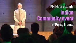 PM Modi attends Indian Community event at UNESCO Headquarters in Paris, France | PMO