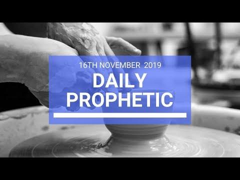 Daily Prophetic 16 November Word 2