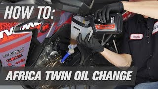 Cambio olio Honda Africa Twin