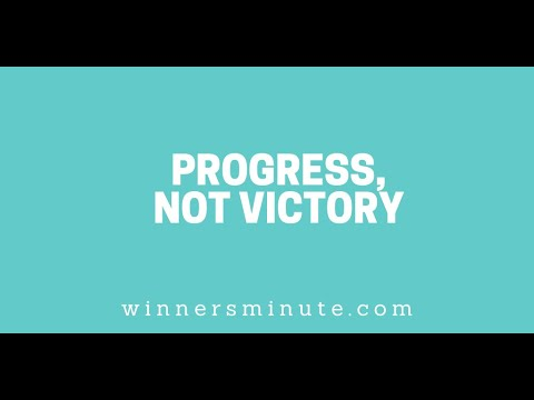 Progress, Not Victory // The Winner's Minute With Mac Hammond