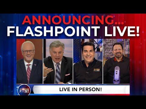 Announcing...FlashPoint LIVE! Aug. 1st, 2021