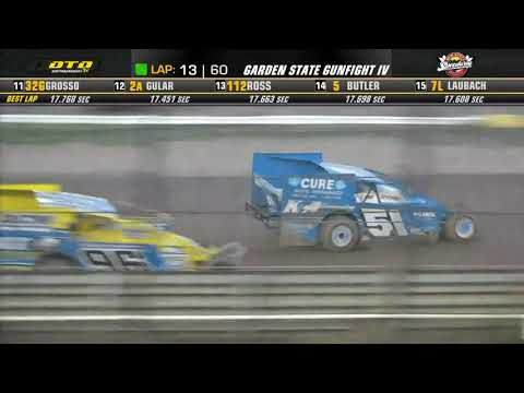 New Egypt Speedway    Garden State Gunfight IV Modified Feature Highlights   6/23/21 - dirt track racing video image