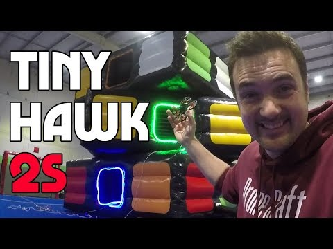 we BUILT a 16 FOOT LED GATE for this -  TINYHAWK S!! IT's INSANE - UC3ioIOr3tH6Yz8qzr418R-g