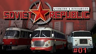 Workers & Resources: Soviet Republic #01 Vlastný štát ?