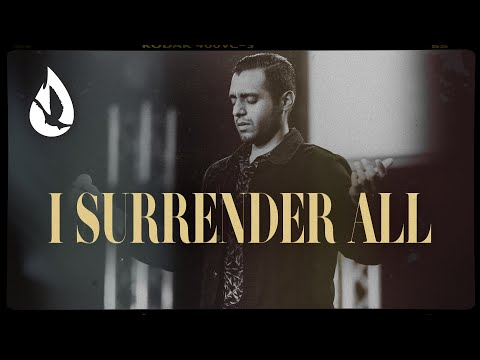 I Surrender All (with Lyrics)  Acoustic Worship Cover by Steven Moctezuma